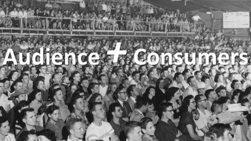 Build an audience of consumers in today's highly competitive environment